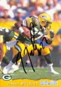 Terrell Buckley - Packers - Signed Trading Card - COA (18729)