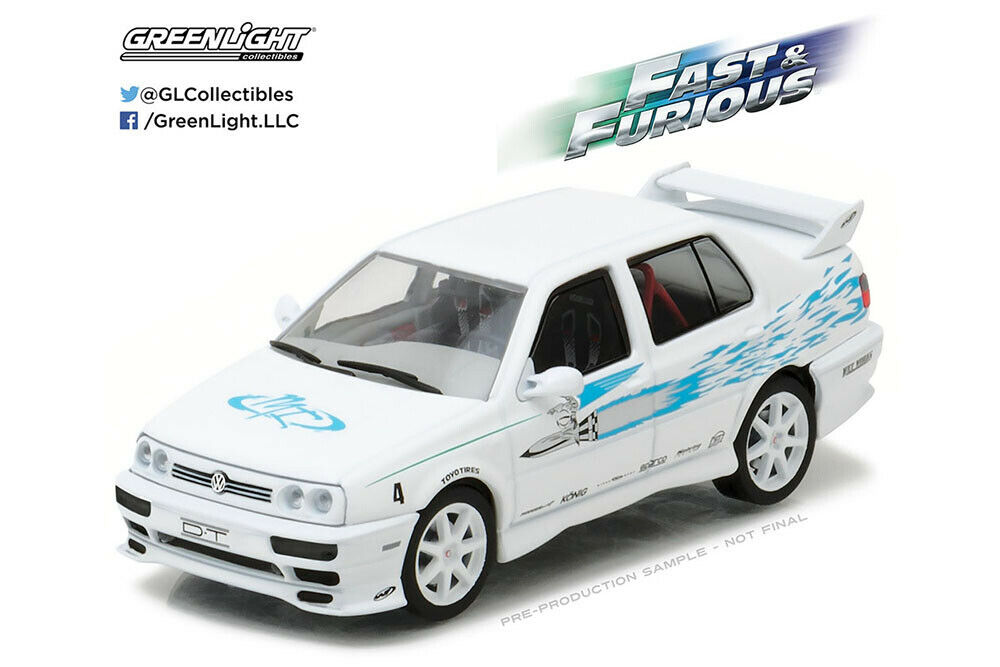 Greenlight 86234 1 43 VW VOLKSWAGEN JETTA III 1995 FROM THE MOVIE FAST AND THE F