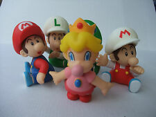 Mario Baby PVC Action Figurine Ninentendo 10cm set 2 of 5