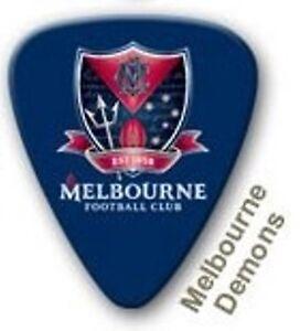 Melbourne-Demons-Guitar-Picks-5-Pack-Official-AFL-Product