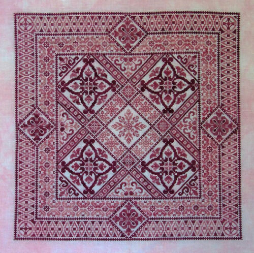 Shade of Rose embroidery pattern//pamphlet by Northern Expressions Needlework