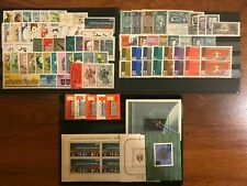 Poland 1962 Complete Year Set with souvenir sheets MNH Perfect Mint Stamps