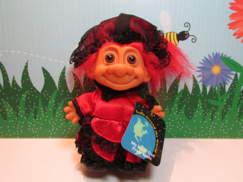 """NEW IN ORIGINAL WRAPPER AROUND THE WORLD  SPAIN 5/"""" Russ Troll Doll"""