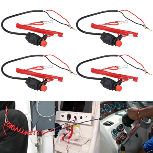 4X Universal Emergency Stop Kill Switch for Dirt Pit Bike ATV Scooter Motorcycle