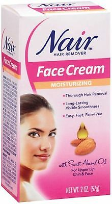 Nair Hair Remover Moisturizing Face Cream with Sweet ...