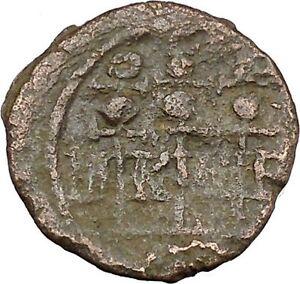 SEVERUS-ALEXANDER-222AD-Nicaea-LEGIONARY-STANDARDS-Ancient-Roman-Coin-i45752