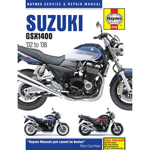 Suzuki-GSX1400-inc-FE-Final-Edition-2002-08-Haynes-Workshop-Manual