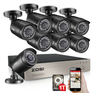 ZOSI-8CH-1080p-HDMI-DVR-720p-Outdoor-CCTV-Home-Security-Camera-System-1TB-HDD