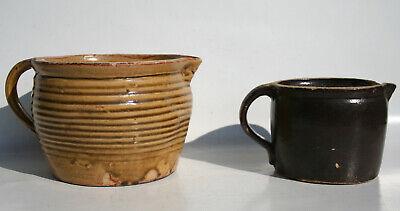 2 Alte KrÜge Keramik !!!