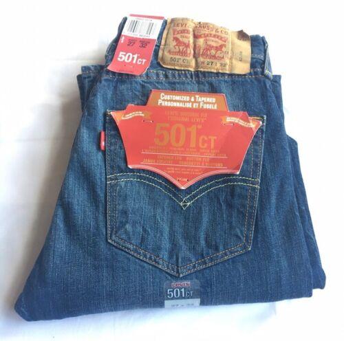 conici Strauss Bnwt Original W27 Levi Mid L32 Wash Levis Blue Jeans 501 Nuovo tvw5nPq7