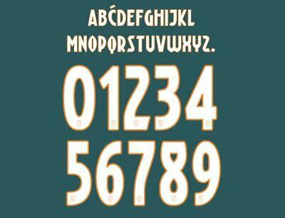 Ajax 2019-2020 Away Football Nameset for shirt Any Name /& Number