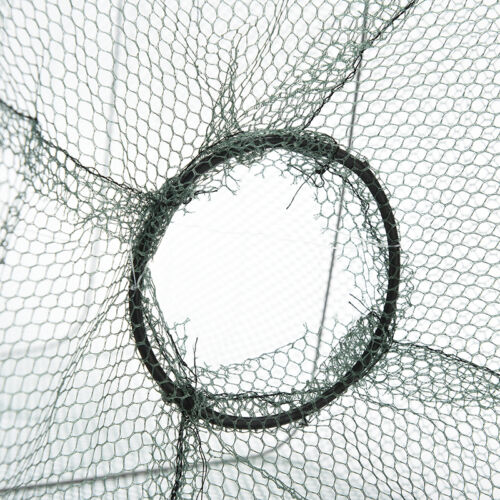 UK New Foldable Fishing Trap Net Crab Prawn Shrimp Crayfish Lobster Live BaitPTU