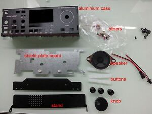 Aluminum-Case-for-mcHF-SDR-Radio-UI-RF-V0-4-V0-5-V0-6-shield-speaker-Handle
