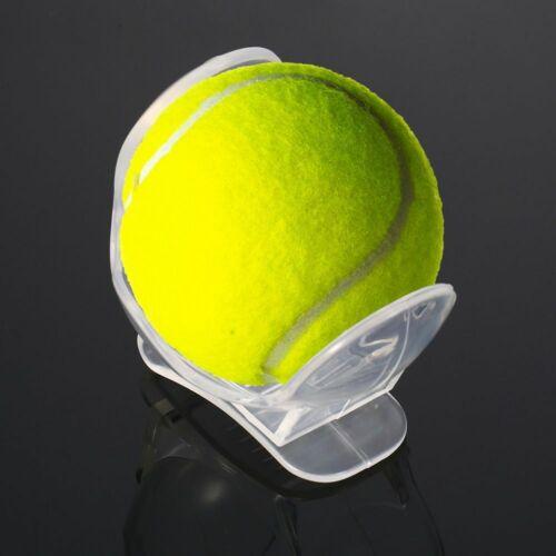 Tennis Ball Holder Clip Transparent Plastic Holder Balls Training Equipment Clip