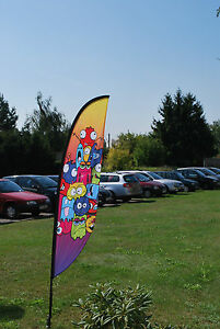 Details about Custom Printed Crest Flags small 2 8m banners exhibition  events retail