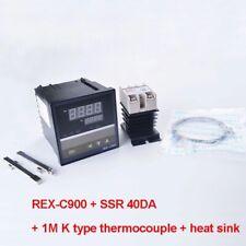 Digital Pid Temperature Controller Rex C900 40da Ssr Relay K Thermocouple Rkc