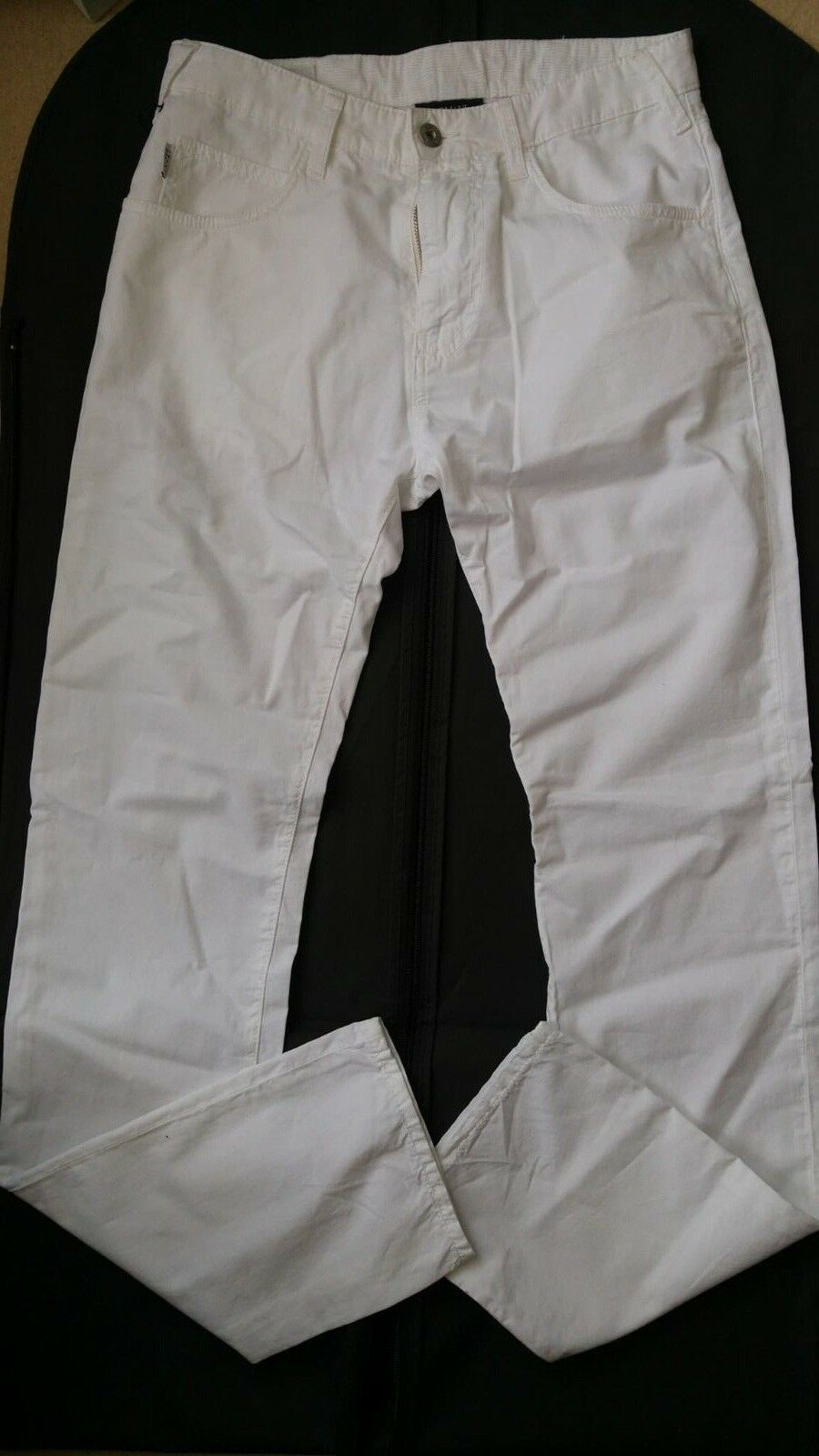 Armani Jeans J45 slim fit men's white jeans size W29xL34