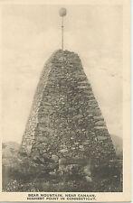 Bear Mountain near Canaan, Highest Point in Connecticut - 1910 - 1920s Postcard