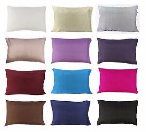 1 Pc 100 Pure Silk Light Pillowcase Slip Standard