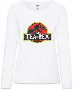 Fun rex Rex I Langarm shirt Tyrannosaurus Tea T Tea T Dinosaurier Damen Dino redoWEQCxB