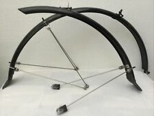 "noir 26 x 1.4-1.9 Planet Bike Cascadia 26/"" X 60 Fender Set"