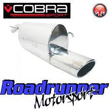 VC31 Cobra Sport Corsa D 1.2 & 1.4 Stainless Rear Silencer Back Box Exhaust