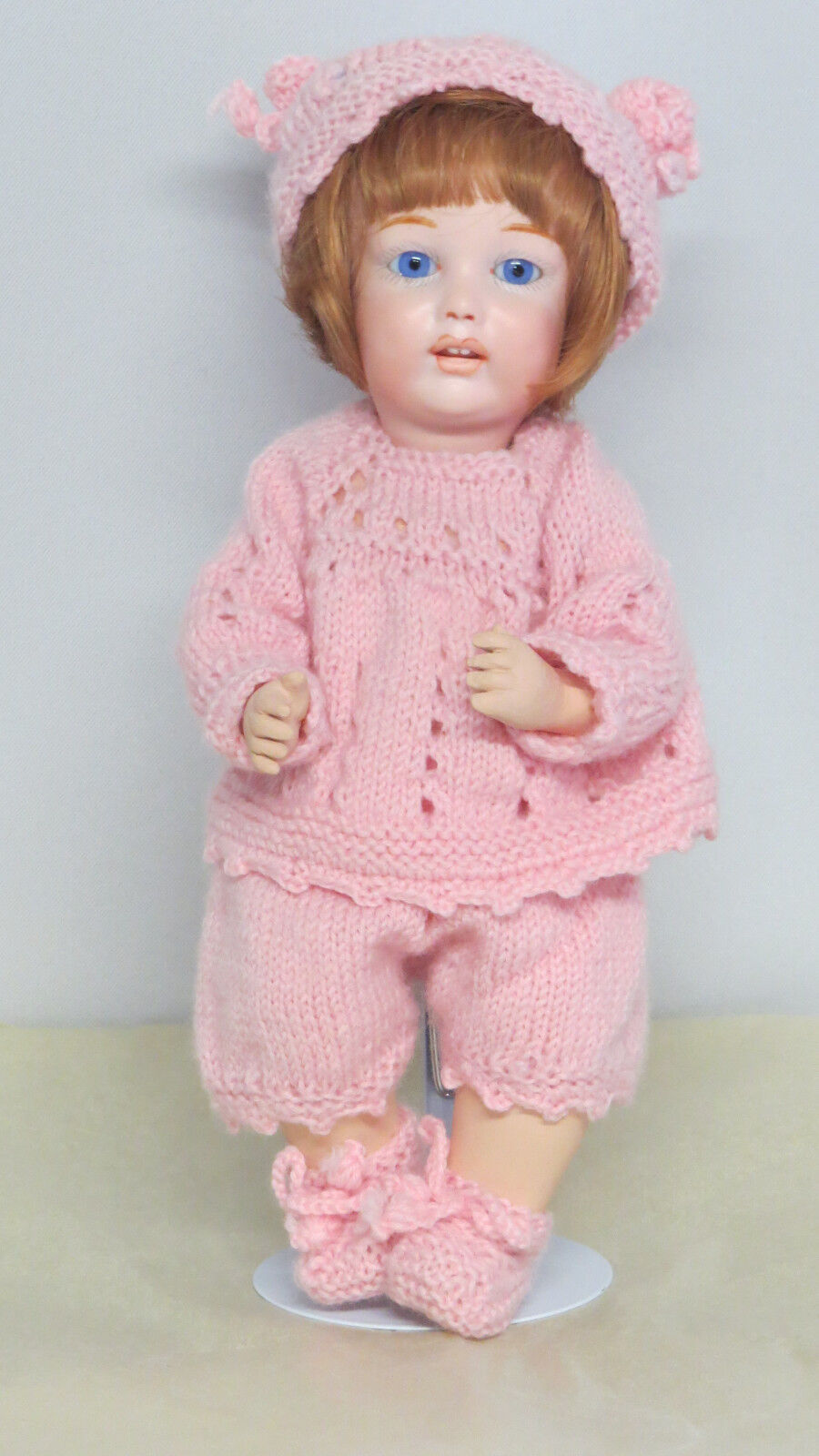 Benjamine        26 cm 10 Inch  Poupée ancienne reproduction Antique Doll