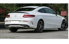 Mercedes Benz W205 C205 Coupe Carbon AMG Heck Spoiler Heckspoiler Hecklippe