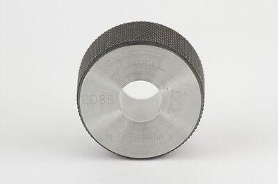 Du-Well Ring Gage, 11.966 mm, X, GO, Steel, Setting Gauge