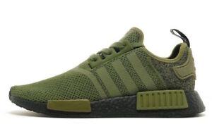 Adidas NMD R1 size 12.5. Black Olive Green. AQ1246. JD Sports ... c8c3a78ba