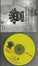 MOOCHIE MACK Ghetto Bounce w/ CLEAN EDITS & INSTRUMENTAL PROMO DJ CD Single 2001