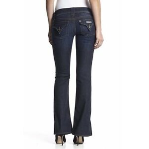 Hudson Jeans Womens Signature Bootcut Flap Pocket Jean