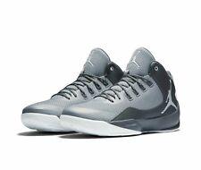 Nike Men's Air Jordan Rising High 2 Shoes 844065 - Grey/White Size 10.5 0 NEW