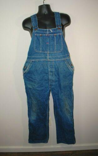 Vintage Pay Day Men's Bib Overalls Waist 40x29 San