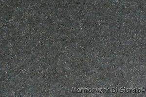 Mauerabdeckung Granit Nero Assoluto Geflammt Geburstet