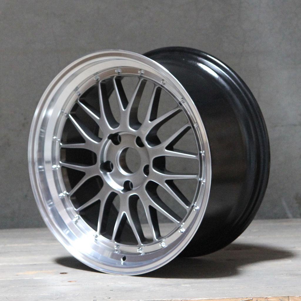 Leichtmetallräder X 4 18   Rt Netz für 5x110 Opel Astra Corsa Meriva