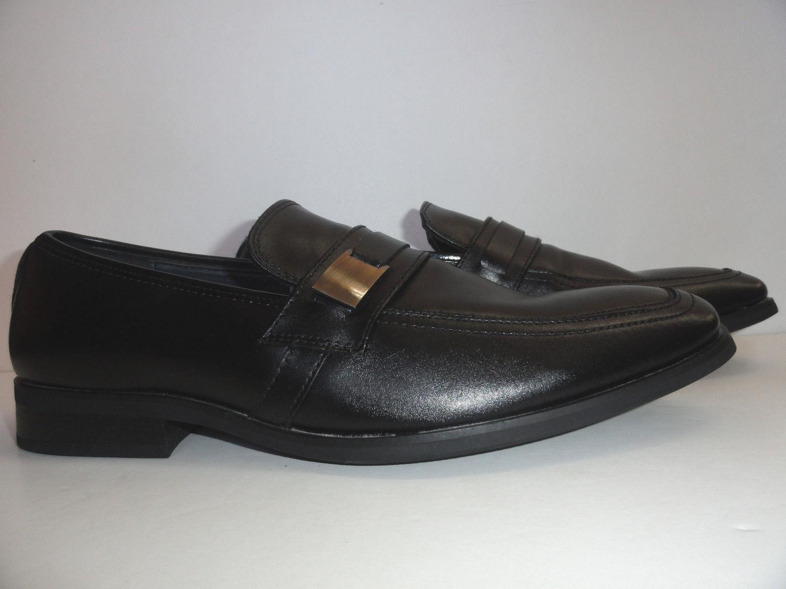 Giorgio Brutini Men's Slip-On Venetian Black Loafers Size 8.5