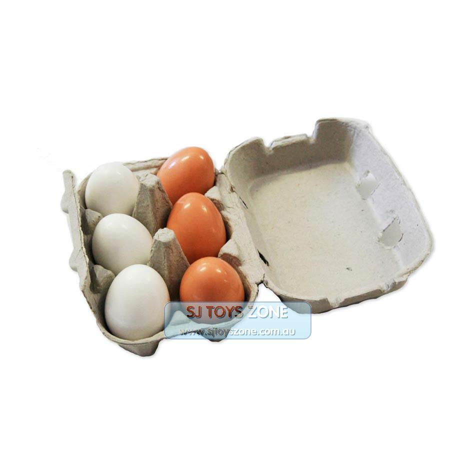 6PC träen Egg Kitchen Spela leksak