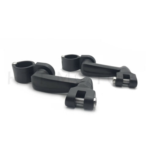 """Offset Longhorn Highway Footpeg Mounts With Magnum Quick Clamp 1.5/"""""""