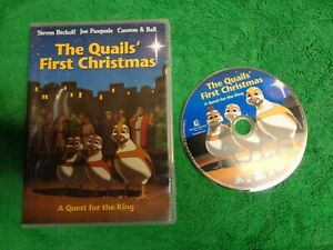 USED-DVD-Movie-The-Quail-039-s-First-Christmas-L