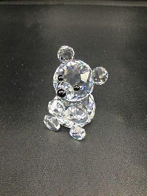 Swarovki Crystal Mini Bear Retired #012262