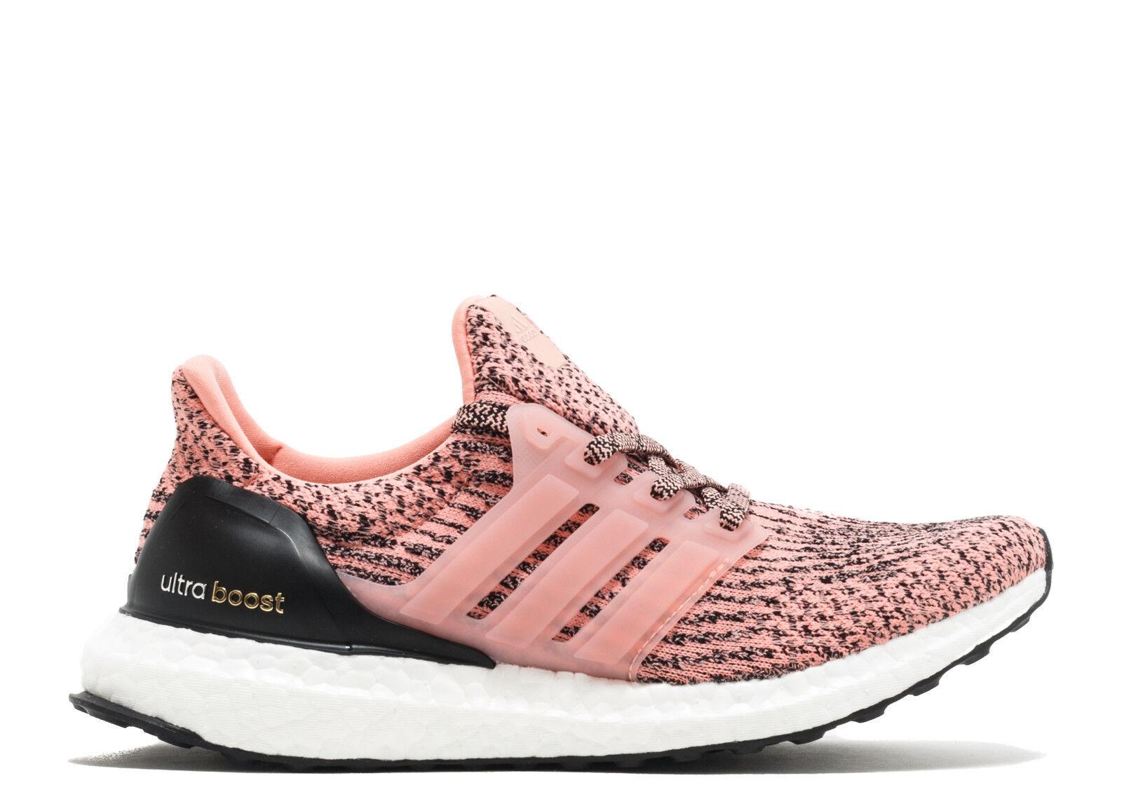 New  Adidas Ultra Boost Salmon Pink Still Breeze Women S80686 LIMITED