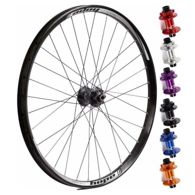 61e298502fc Hope Pro 4 Tech DH Rim Front Complete Down Hill MTB Wheel QR and 20mm 26