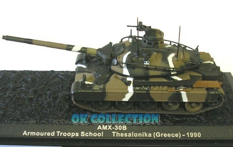1 72 Carro Panzer Tanks Military AMX-30B - Thesalonika (Greece) 1990 (50)