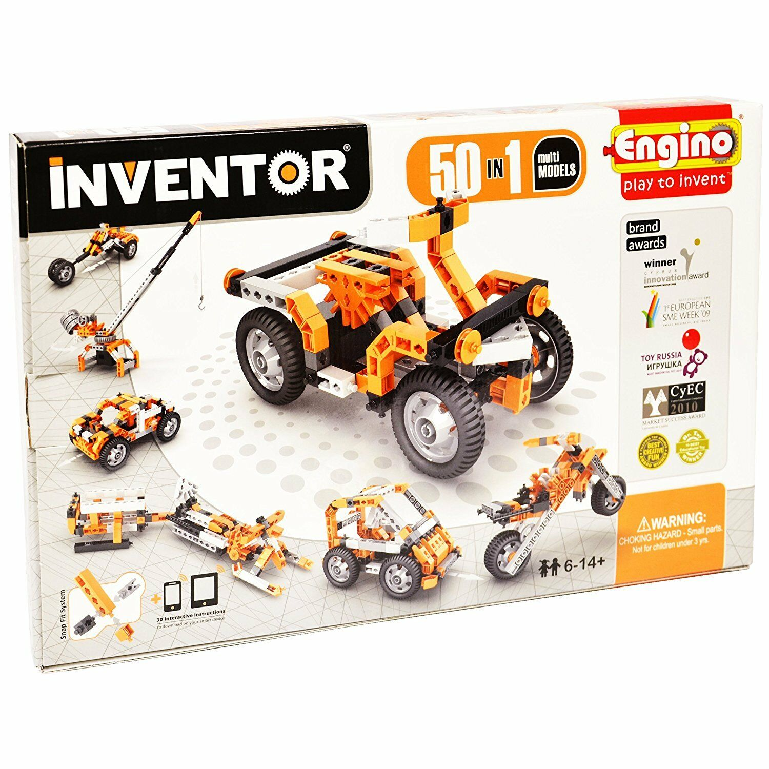 Engino 5030 Inventor - Build 50 Motorized Models Construction KitSPECIAL