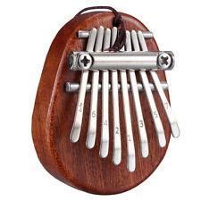 Mini Kalimba 8 Tasten Daumen Klavier Toller Sound Finger Tastatur Musik Ins Y4O2
