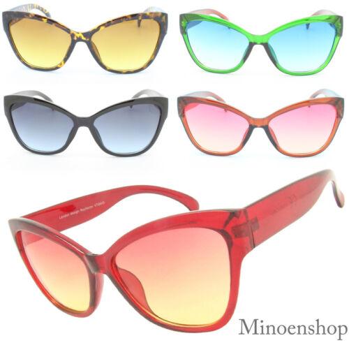 Bold Cat Eye occhiali da sole da donna vintage ROCKABILLY CORNICE 70'S DONNA
