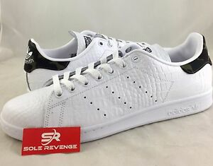 sports shoes a9fa5 2a388 germany adidas stan smith snakeskin white 68cc0 28bda