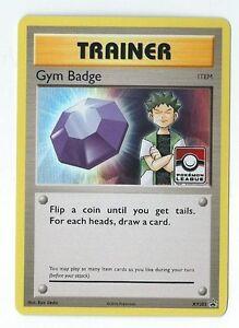 NM LEAGUE Pokemon ERIKA/'S GYM BADGE Card BLACK STAR PROMO Set XY206 Holo Trainer