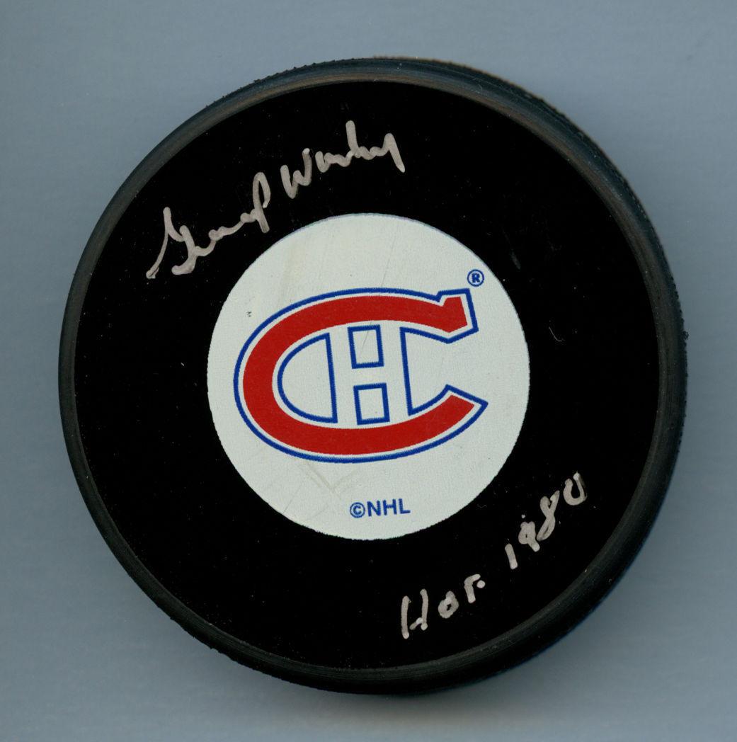 Gump Worsley (D 2007) Unterzeichnet Autogramm Auto Offizielles NHL NHL NHL Montreal   | Spielzeugwelt, glücklich und grenzenlos  | Zarte  18c8b3